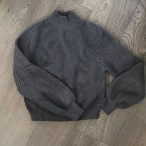 Charcoal Grey Sweater